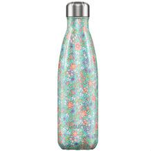 Chillys Isolierflasche Floral Peony Pfingstrose MIT GRAVUR (z.B. Namen) 500ml