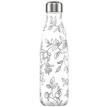 Chillys Isolierflasche Line Drawing Flowers Blumen 500ml