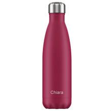 Chillys Isolierflasche MIT GRAVUR (z.B. Namen) Matte Pink 500ml