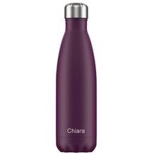 Chillys Isolierflasche MIT GRAVUR (z.B. Namen) Matte Purple lila 500ml