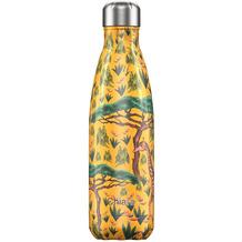 Chillys Isolierflasche MIT GRAVUR (z.B. Namen) Tropical Giraffe 500ml