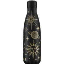 Chillys Isolierflasche Mystic Black schwarz 500ml