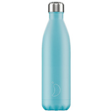 Chillys Isolierflasche Pastel Blue blau 750ml