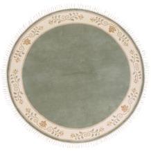 Kelii Nepalteppich Romantico grün 250 x 300 cm