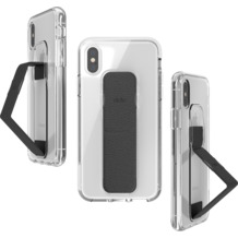 CLCKR Gripcase FOUNDATION for iPhone X/Xs clear/black