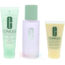Clinique 3-Step Creates Great Skin Type 2 #02 Starter Kit (100/50/30) 3 Stück