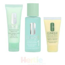 Clinique 3-Step Creates Great Skin Very Dry To Dry - Clarifying Lotion1 100Ml/Liquid Facial Soap 50Ml/Dramatically Different Moisturizing Lotion 30Ml 3 Stück