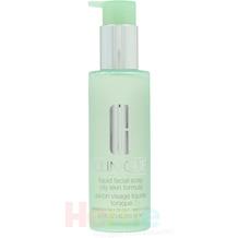 Clinique Liquid Facial Soap Oily, flüssige Reinigungsseife für Mischhaut/ Ölige Haut 200 ml