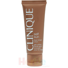 Clinique Self Sun Face Tinted Lotion Oil Free, Selbstbräunerlotion 50 ml
