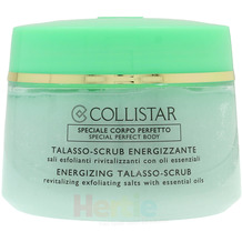 Collistar Energizing Talasso-Scrub Revitalizing Exfoliating Salts With Essential Oils 700 gr