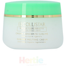 Collistar Sublime Melting Cream Nourishes Repairs Regenerates - For Very Dry Skins, Körpercreme 400 ml