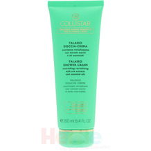 Collistar Talasso Shower Cream Nourishing Revital With Sea Extracts And Essential Oils 250 ml