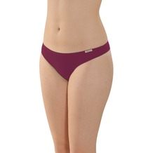 comazo Fairtrade Damen String brombeer 36