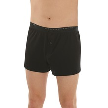 comazo Fairtrade Herren Boxer-Shorts schwarz 5