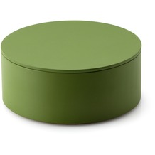 Continenta Aufbewahrungs-Set, 1 Dose mit Deckel, smaragdgrün Ø 19 x 8 cm