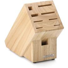 Continenta Messerblock aus Holz mit Scherenschlitz