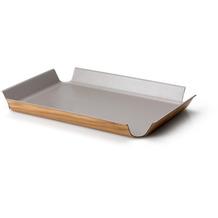 Continenta Rutschfestes Tablett, taupe metallic 54,5 x 40 cm