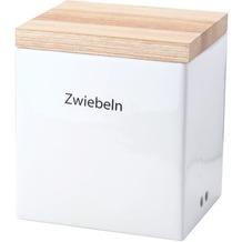 Continenta Vorratsdose mit Holzdeckel 18 x 15,5 x H 20,5 cm