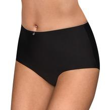 Conturelle High-Waist-Panty Pure Feeling, schwarz 38