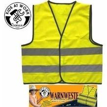 CORVUS A600003 - KIDS AT WORK Warnweste, Gr. XS
