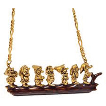 Couture Kingdom Halskette Disney Schneewitchen Die Sieben Zwerge 40,0 cm