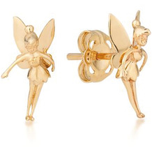Couture Kingdom Ohrstecker Disney Tinker Bell 1,5 x 1,0 cm