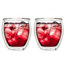 Creano 2er Set Doppelwandglas DG-B, 250ml, Thermogläser