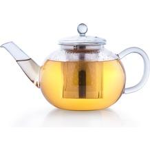 Creano Glas Teekanne flach 1,2l