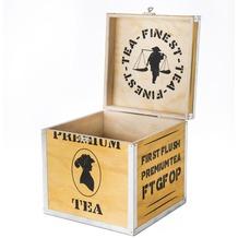 Creano Holz-Deko-Box leer 18cm