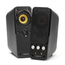 Creative Labs GigaWorks T20 Series II, 2.0 Stereo Lautsprecher, 17 Watt, schwarz
