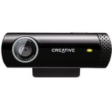 Creative Labs Live! Cam Chat HD, Webcam, 5.7 Megapixel, 1280 x 720 Pixel, 30 fps, schwarz