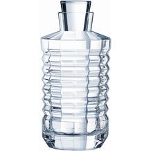 Cristal d'Arques Architecte, Glas-Karaffe 75 cl aus hochwertigem Kristallglas, Kwarxglas