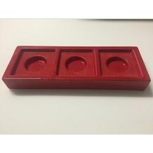 cult design Teelichthalter CHANGE Basic rot - Solo