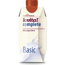 Cura Products Lovital complete Basic, 12 x 330 ml, hochkalorische eiweißreiche Trinknahrung