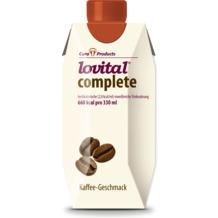Cura Products Lovital complete Kaffee, 12 x 330 ml, hochkalorische eiweißreiche Trinknahrung