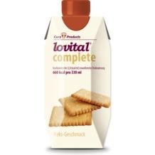 Cura Products Lovital complete Keks, 12 x 330 ml, hochkalorische eiweißreiche Trinknahrung