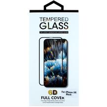 Cyoo Displayschutzglas für Apple iPhone 11 / XR, Schwarz