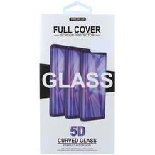 Cyoo Displayschutzglas Panzerfolie Glas 5D für Galaxy S10e, Schwarz