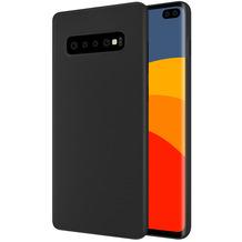 Cyoo Handyhülle / Soft Case für Samsung G975F Galaxy S10+, Schwarz