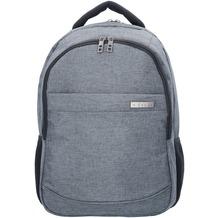 d & n Bags & More Rucksack 46 cm Laptopfach grau