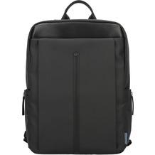 d & n Basic Line Businessrucksack 43 cm Laptopfach schwarz