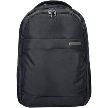 d & n Basic Rucksack 46 cm Laptopfach schwarz