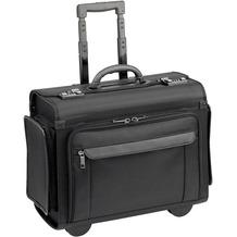 d & n Business & Travel Pilotenkoffer Trolley 46 cm Laptopfach schwarz