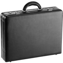 d & n Tradition Aktenkoffer Leder 45 cm schwarz