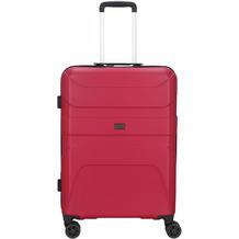 d & n Travel Line 2100 4-Rollen Trolley 68 cm pink
