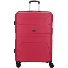 d & n Travel Line 2100 4-Rollen Trolley 78 cm pink