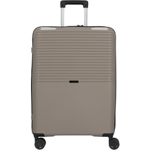 d & n Travel Line 4000 4-Rollen Trolley 66 cm taupe