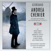 da music Andrea Chenier, CD
