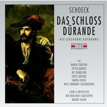 da music Das Schloss Dürande, CD