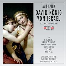 da music David König Von Israel, CD